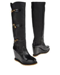 Maloles - Black Highheeled Boots - Lyst