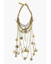 Nasty Gal - Metallic Mykonos Necklace - Lyst