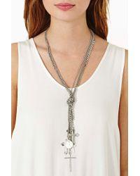 Nasty Gal - Metallic Barcelona Necklace - Lyst