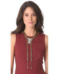 Auden - Metallic Devon Collar Necklace - Lyst