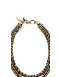 Auden | Metallic Devon Collar Necklace | Lyst