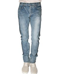 Dior Homme | Blue 19 Cm Selvadge Side Inside Out Jeans for Men | Lyst