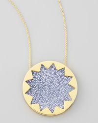House of Harlow 1960 - Metallic Sunburst Pendant Necklace - Lyst