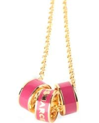 Marc By Marc Jacobs | Metallic Sweetie Rings Necklace | Lyst