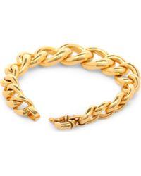 Tom Binns - Metallic Delon 24ct Goldplated Bracelet - Lyst