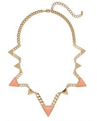 BaubleBar | Metallic Zigzag Triad Collar | Lyst