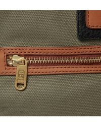 Marc By Marc Jacobs - Green Leathertrimmed Canvas Holdall Bag for Men - Lyst