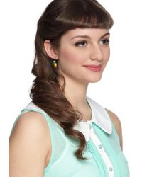 ModCloth - Yellow When Life Gifts You Lemons Earrings - Lyst