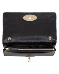 Mulberry - Black Bayswater Clutch Wallet - Lyst