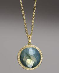 Ippolita | Metallic Labradorite Pendant Necklace | Lyst