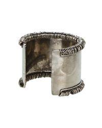 Jean Paul Gaultier | Metallic Multi Ring Cuff | Lyst