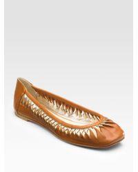 christian louboutin shoes usa - christian louboutin square-toe mesh flats, red bottom shoes knock off