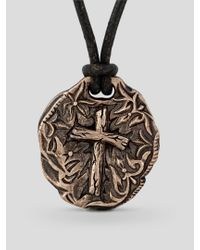 Scott Kay | Black Cocoa Coin Necklace for Men | Lyst