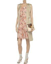 Vanessa Bruno   Pink Floralprint Cotton Dress   Lyst