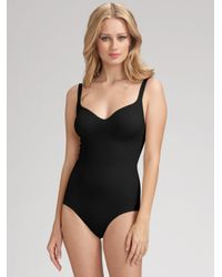 Wolford | Black Mat De Luxe Forming Body | Lyst
