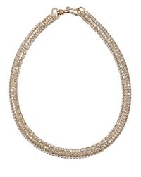 Atelier Swarovski | Metallic Tubular Crystal Necklace | Lyst