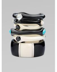 Ippolita - Black Turquoise Resin and Sterling Silver Bracelet - Lyst