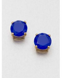 kate spade new york | Metallic Gumdrop Stud Earrings | Lyst