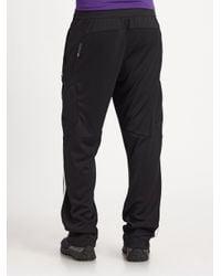 RLX Ralph Lauren | Black Interlock Knit Athletic Pants for Men | Lyst