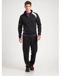 RLX Ralph Lauren | Black Interlock Track Jacket for Men | Lyst