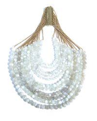 Rosantica | White Raissa Agate Necklace | Lyst