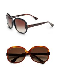 Tod's | Black Large Square Sunglasses | Lyst