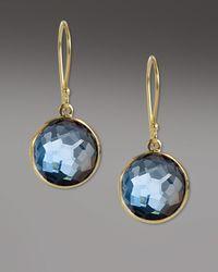 Ippolita | Blue Mini Lollipop Earrings | Lyst
