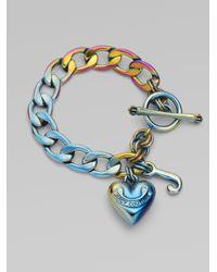 Juicy Couture   Multicolor Starter Charm Braceletiridescent   Lyst