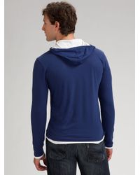 VINCE | Gray Crewneck Cashmere Sweater for Men | Lyst