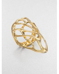 Alexis Bittar - Metallic Open Web Ring - Lyst