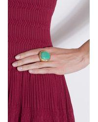 Aurelie Bidermann - Blue Miki Dora Ring with Turquoise - Lyst