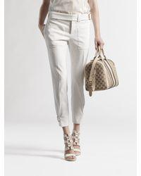 Gucci | White Capri Pants | Lyst