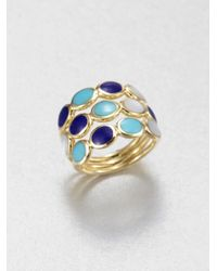 Ippolita | Metallic 18k Gold Semiprecious Multistone Ring | Lyst