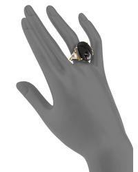 Isharya | Gemini Druzyeffect Ringblack | Lyst