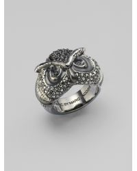 Marc By Marc Jacobs - Metallic Wise Owl Ring - Lyst