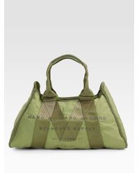Marc By Marc Jacobs | Green New Standard Supply Small Cargo Satchel | Lyst