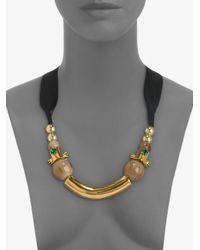 Marni - Black Mixedmedia Necklace - Lyst
