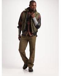 RLX Ralph Lauren - Green Himalayan Down Vest for Men - Lyst