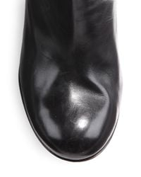 Jerome C. Rousseau - Black Provence Tall Wedge Boots - Lyst