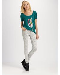 Marc By Marc Jacobs - Gray Gaia Super Skinny Jeans - Lyst