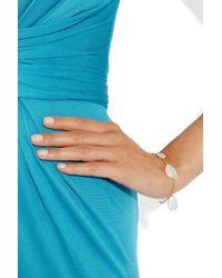 Pippa Small - Metallic 18karat Gold Rainbow Moonstone Bracelet - Lyst