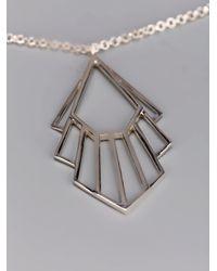 Zoe & Morgan | Metallic Flossie Necklace | Lyst