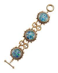 Stephen Dweck | Blue Opal Mosaic Crown Bracelet | Lyst