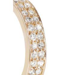 Anita Ko | Metallic 18karat Rose Gold Diamond Ear Cuff | Lyst