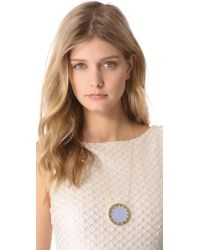 House of Harlow 1960 - Blue Star Sunburst Necklace - Lyst