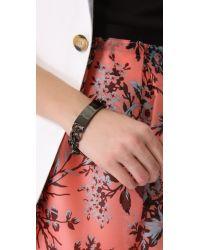 Luv Aj - Black Id Bracelet - Lyst