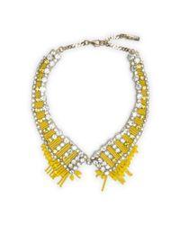 Club Monaco | Yellow Rada Collar | Lyst