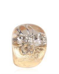 Nicholas King - Metallic Gold Bee Ring - Lyst