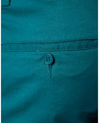 Volcom - Green Shorts Skinny Fit for Men - Lyst