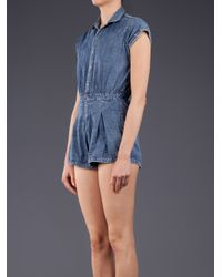Motel Rocks | Blue Seraphina Jumpsuit | Lyst